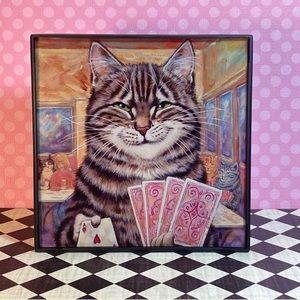 Accents - Card Shark Cat